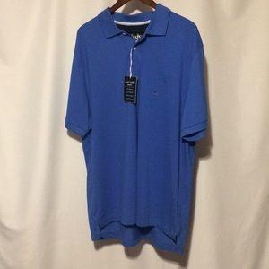 Chaps NWT Blue Polo Shirt sz XXL